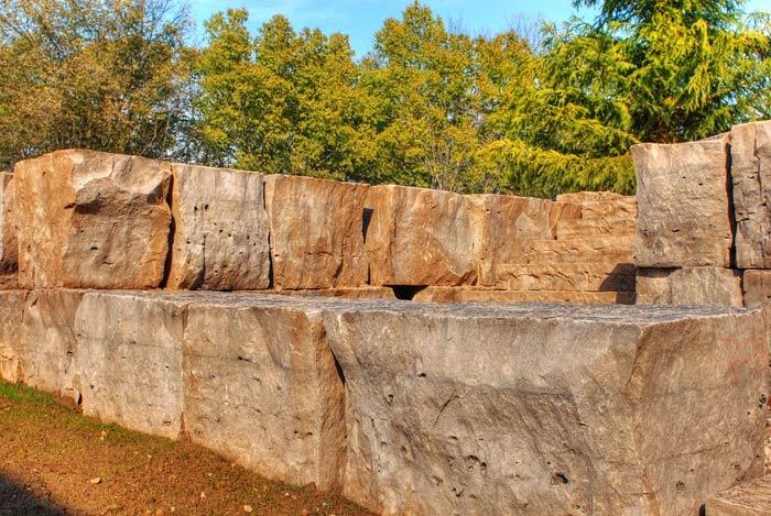 Armour Stone Retaining Walls Schut S