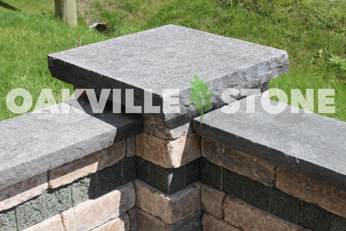 Natural Stone Pillars Caps : Walls pillars schut s