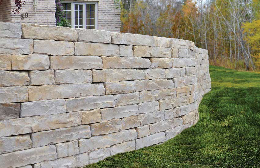 Rosettta By Browns Concrete Products Retaining Wall