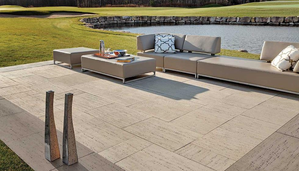 Techo bloc patio slabs concrete pavers schut 39 s for Techo bloc