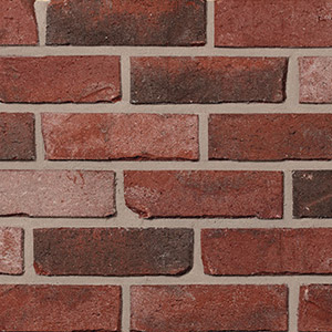 Colour sample of building brick.