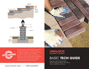Paver and retaining wall install guide cover