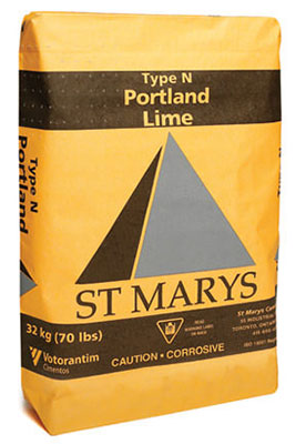 Bag of Portland Lime Cement - Type N