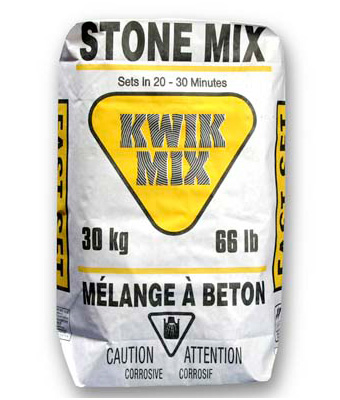 Bag of Stone Mix for Concrete
