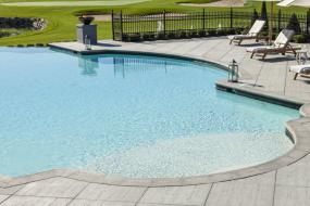 Techo-Bloc - Bali Travertina coping