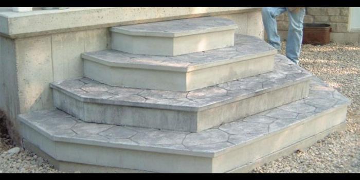 Rounded Concrete Steps Aumondeduvin Com